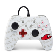 Power A Wired Controller Mario Odyssey (Switch)