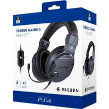 Big Ben Stereo Headset V3 Titanium (PS4)