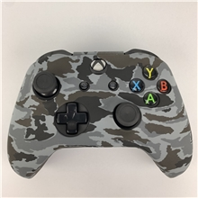 Silicone Protective Case Grey Camouflage (X1)
