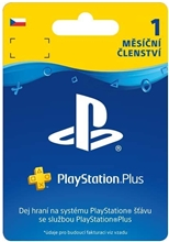 PlayStation Plus 30 Days CZ (PS4)