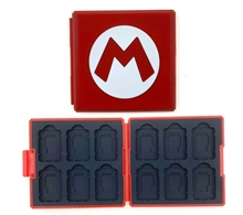 Case for Games Mario Style (Switch)