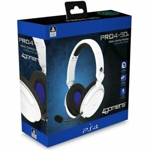 4Gamers PRO4-50S Officially Licensed Stereo Headset (Black) (PS4)