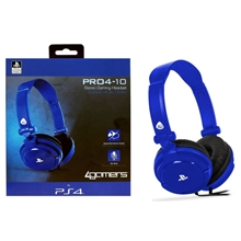 Pro4-10 Officially Licensed Stereo Headset (Blue) (PS4)