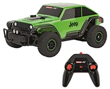 R/C Carrera Jeep Trailcat Green 1/18