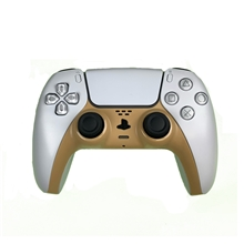 Sony PlayStation 5 DualSense Wireless Controller - White/Gold (PS5)