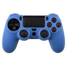 Silicone Protective Case (blue) (PS4)