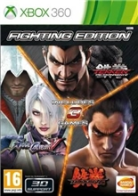 Fighting Edition (Tekken 6/Tekken Tag Tournament 2/SoulCalibur V) (X360)