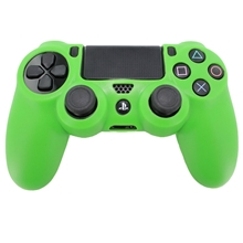 Silicone Protective Case (green) (PS4)
