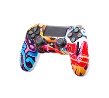 Silicone Protective Case Graffiti Style (PS4)