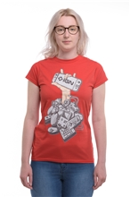 T-Shirt IGN Controller Women - red