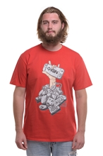 T-Shirt IGN Controller Men - red