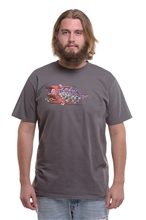 T-Shirt IGN Automat Men - gray