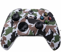Silicone Protective Case Military Camo Style (white) (X1)
