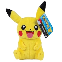 Plush Pikachu happy 20cm