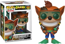 Figure (Funko: Pop) Crash Bandicoot - Scuba Crash