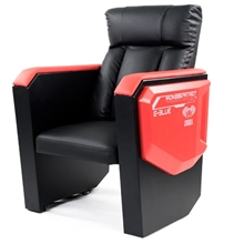 Gaming sofa E-Blue COBRA - red/black