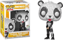 Figure (Funko: POP) Fortnite - P.A.N.D.A Team Leader